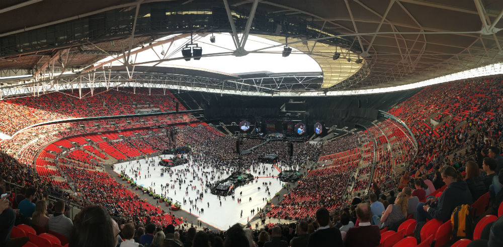 Coldplay Wembley