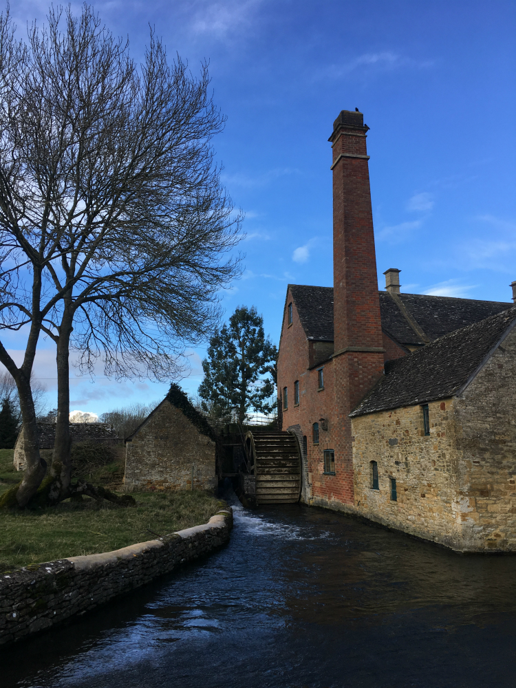 Cotswolds Lower Slaughter watermill