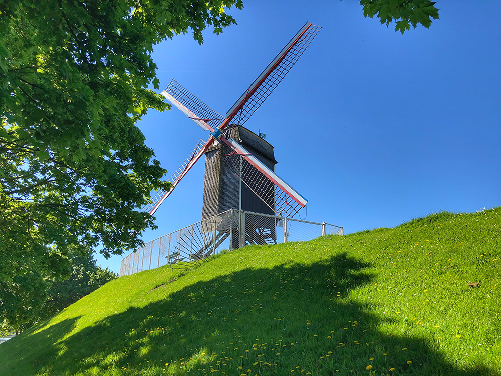 Bruges windmill